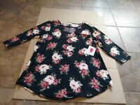 Women's Top Bobbie Brooks Brand Size 1X  NWT!