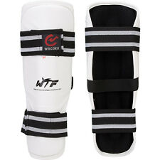 Wacoku WTF Approved Shin Guards Taekwondo Pads Competition TKD Protection