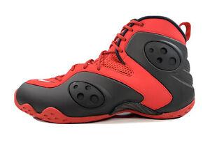 Nike Air Zoom Rookie Penny Hardaway Foamposite Black Red BQ3379-600 Men Size 9.5