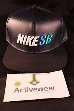 NEW NIKE SB S+ Seat Cover Skateboarding Adjustable Trucker Hat 833461-010