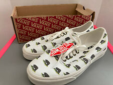 Vans Authentic California Bear White Shoes Size 10.5 Men 12 Women New With Box