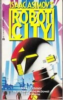 Complete Set Series - Lot of 6 Asimov's Robot City books by Wu/Cover/McQuay