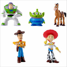 5 Pcs Toy Story 3 Figure Buzz Lightyear Woody Figures Doll Set Christmas Gift