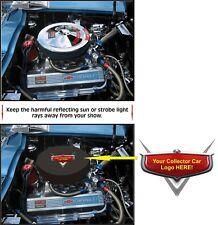 Corvette Mustang Charger Challenger Torino Javelin Air Cleaner Cover ANY LOGO !!