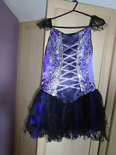 girls fancy dress halloween dress age 11/12 by tesco