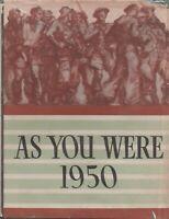 MILITARY , AUSTRALIA , WWII , AWM pbl , AS YOU WERE , 1950