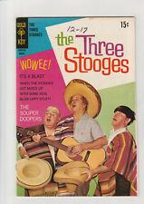 Three Stooges #42 Vf- 1969 Gold Key Comic