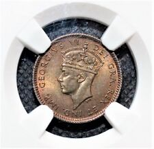 Newfoundland 5 Cents 1938 NGC Graded MS 63 Nice Toned