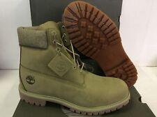 Timberland 6-Pollici Premium Stivali in Pelle da Uomo A1PBA, Taglia UK 10/EUR 44.5