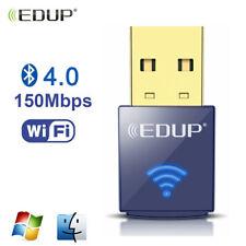 EDUP USB Wifi Adapter Bluetooth 4.0 Wireless Network Card for Desktop Laptop PC