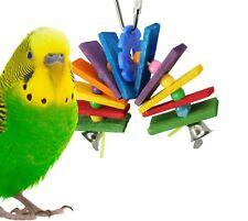 1118 Balsa Bite Bird Toy parrot cage craft toys cages cockatiel parrakeet budgie