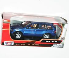 MotorMax - BMW X5 (Blue) - Model Scale 1:24