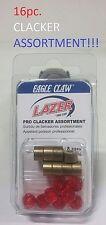 6 Lazer Sharp 16pc. Pro Clacker Assortment (LCLKASST1) EB020202