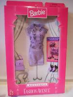 Barbie BOUTIQUE Fashion Avenue 1998 18126 Purple Top Skirt
