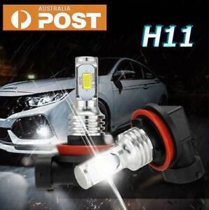 2X H11 H9 H8 LED Headlight Bulb 7000LM Fog Light Kit DRL Xenon Lamps White 6000K