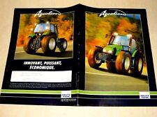 Prospectus Tracteur DEUTZ AGROTRON  brochure tractor Traktor prospekt Trattore