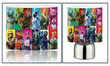 FORTNITE d3 DRUM LIGHTSHADE & TOUCH LAMP SET KIDS FREE P+P and FREE GIFT