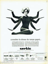 PUBLICITE ADVERTISING 036  1965   Sertic   copieur microscopie dictée magnétique