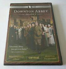 """Downton Abbey: Season 2 (DVD, 2012, 3-Disc Set) *PBS, UK EDITION*  """"NEW"""""""
