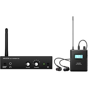 ANLEON S2 Wireless In-ear Monitor System UHF (561-568MHz, Transmitter and Receiv