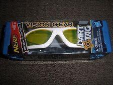 Brand New NERF Dart Tag VISION GEAR Glasses For Blaster WHITE