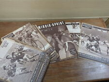 24 x magazine MIROIR SPRINT + BUT ET CLUB ANNEE 1951