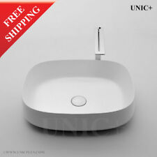 Porcelain Ceramic Bathroom Vessel Sink Rectangular Vessel Sink Bowl Sink BVC009M