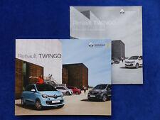 Renault Twingo La Parisienne Sondermodell - Prospekt + Preisliste 09.2018