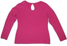Columbia Women's Hopewell Bay Long sleeve Shirt Large Pink Cotton