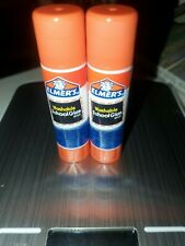 ELMER'S Disappearing Purple School Glue Sticks No-Mess Bond 6 Sticks Total