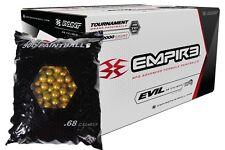 Empire ULTRA EVIL 2000 Paintballs - Green Shell - PRO ORANGE FILL