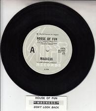 "MADNESS  House Of Fun 7"" 45 rpm vinyl record + juke box title strip RARE!"