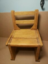 """Handcrafted in legno Mini Pieghevole Sedia scaletta Combo 10 1/4"""" × 6 3/4"""""""