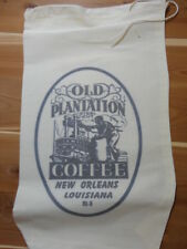 RL-03 OLD PLANTATION Flour Bag Sack Feed Seed  Novelty Collectible