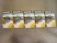 PHILIPS 5 BOMBILLAS PARTYTONE VERDE P45  E27 ES 20W