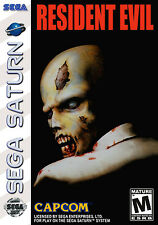 Framed Gaming Print – Resident Evil SEGA Saturn Edition (Picture Poster Art)