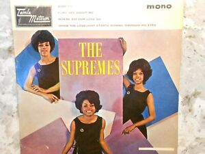 THE SUPREMES - The Supremes Hits - Original 1964 Four Track EP, 45rpm