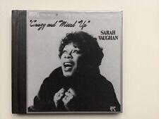 """Sarah Vaughan """"Crazy and Mixed Up"""" JVC CD"""