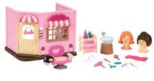 Li'l Woodzeez Animal Figurine Playset and Accessories - Baabaa Spa & Hair Salon