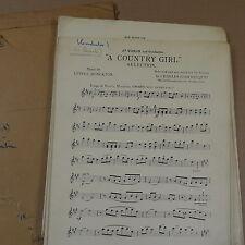 ORCHESTRA pièces un Country Girl-Sélection Lionel Monckton
