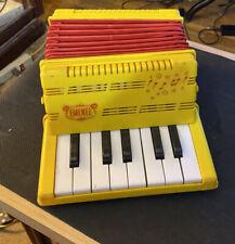 Vintage Emenee Musical Toys Brand Toy Accordion