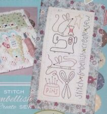 PATTERN - Sewing Mouse Needlebook - pretty stitchery PATTERN - The Birdhouse