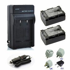 Battery / Charger for JVC Everio GZ-HM35BU,GZ-HM40BU,GZ-HM65BU FULL HD Camcorder