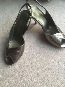 Sabrina Chic Real Leather Shoes Size 38