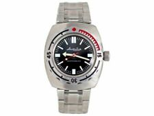 Vostok Amphibian 090916 Watch Russian Diver Military Auto 1967 Design New