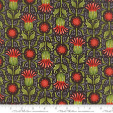 MODA Fabric ~ DEAR MUM ~ by Robin Pickens (48621 16) Charcoal - by 1/2 yard