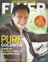 TONY GOLDWYN Scandal 2014 Washington Flyer magazine Mint condition!