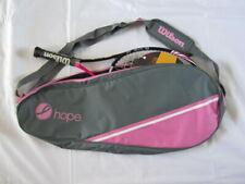 New Wilson Hope Tennis Racket Pink Breast Cancer Awareness Bag Shoulder Strap