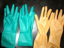 4 Paar( 2x 2),Maxitex Duplex,OP Latex - Gummihandschuhe,gün/braun steril, M,-7,5