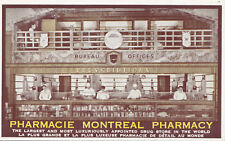 World's Largest Drug Store MONTREAL Pharmacy Quebec Canada Advertising Postcard